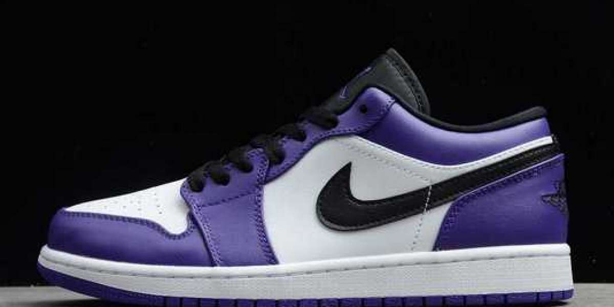 """The Air Jordan 1 Low """"Court Purple"""" has been released. Where can I find it?"""