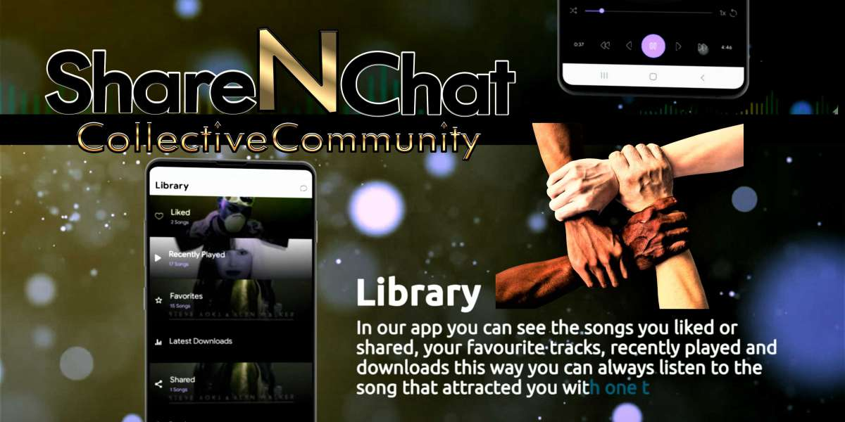 Share 'N Chat Music APP